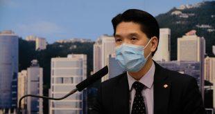 劉家獻表示目前醫管局保護裝備能維持一個月用量。