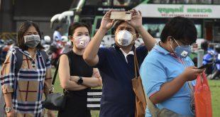 泰國新增7病例,累計確診病例增至32宗(法新社)