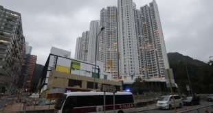林鄭月娥表示,火炭駿洋邨隔離中心將再增1500個單位。(文匯報資料圖