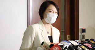 李慧琼表示將按議事規則公平有序主持會議冀順利開會。(大文全媒體記者李斯哲攝)